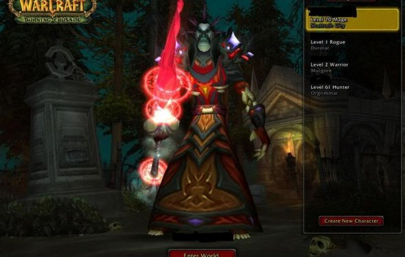 Candi: Wow gear change with spec