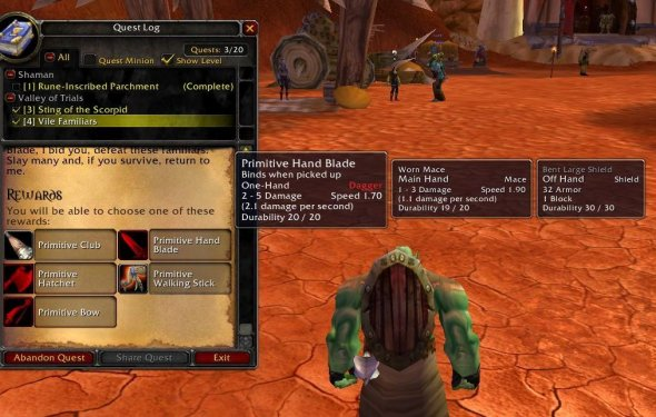 EquipCompare : Bags, Bank, Inventory : World of Warcraft AddOns