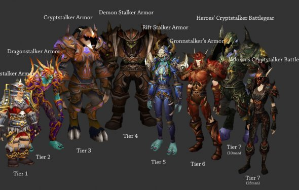 Hunter sets | WoWWiki | FANDOM powered by Wikia