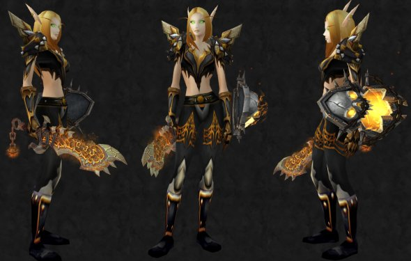 Plate/Paladin only - [View items on WoWhead!] Shoulder: [Heroes