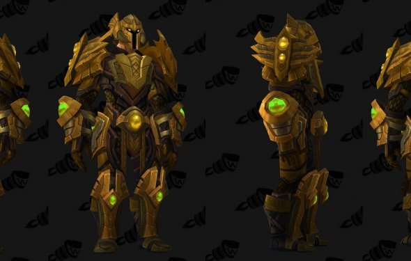 Trial of Valor Plate Transmog Set, Demonology Hidden Artifact