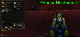 Heirloom items in wow
