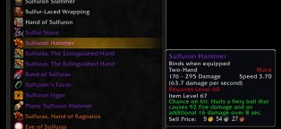 Wow gear database